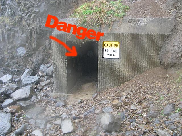 Cave danger